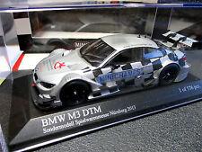 1/43 BMW M3 DTM Spielwaren-Messe-Modell Nürnberg 2013 MINICHAMPS MINT + RAR !
