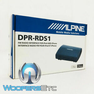 ALPINE DPR-RDS1 FACTORY RADIO INTERFACE iPOD IPHONE TEST DISPLAY RDS COMPATIBLE