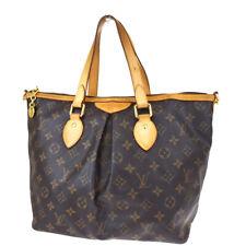 Authentic LOUIS VUITTON Palermo PM Hand Bag Monogram Leather BN M40145 82MF678