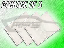 C38155 CABIN AIR FILTER FOR 2015 2016 2017 FORD MUSTANG - PACKAGE OF 3