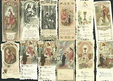 12 Estampas antiguas de Primera Comunion andachtsbild santino holy card santini