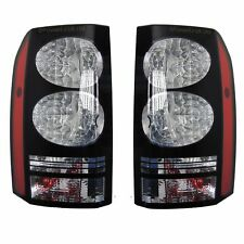 Land Rover Discovery 4 BLACK LED 2014 rear light tail lamps conversion upgrade