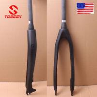 "26/27.5/29"" Fork Bicycle Rigid Fork Carbon Mountain MTB Fork Disc Brake 1-1/8"