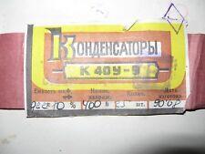 CAPACITOR K 40 U - 9  0,22uF 400V 25 PCS TYPE B PIO CAPACITORS. NEW OLD STOK