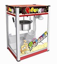 New Professional Popcorn Machine Commercial Popcorn Maker 220V 8oz