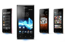 New Original Unlocked Sony Xperia J ST26i - 4GB 5MP WIFI GPS  Smartphone Black