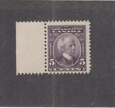CANADA (MK2955) # 144  VF-MLH  5cts  1927 SIR WILFRED LAURIER W MARGIN / VIOLET