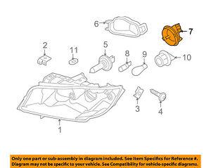 BMW OEM 07-08 328i-Headlight Headlamp Bulb Cap Cover 63117159564