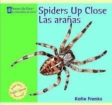 Spiders Up Close/Las Aranas (Nature Up Close / La Naturaleza de Cerca)-ExLibrary