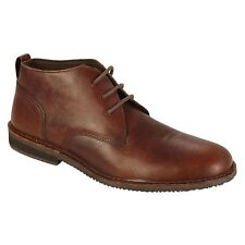 New Thom McAn Men's Sz 13 Oxford Shoes Leather Boots Brown