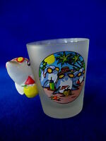Collectible MIAMI FLORIDA Shot Glass - Dolphin in Sunglasses