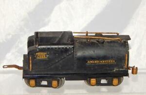 Prewar American Flyer Diecast Tender O Gauge Vanderbilt Oil style 8 Wheel Vandy