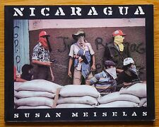 SIGNED SUSAN MEISELAS - NICARAGUA - 1981 1ST EDITION SOFTCOVER - FINE COPY