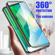 360° Full Case + Screen Protector For Samsung S10 S8 S9 Plus Note10 9 8 S7 Edge