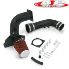 Black Piping Cold Air Intake System W/ Filter For 1996-2004 Ford Mustang V8 4.6l
