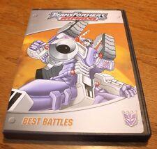 DVD Transformers Armada Best Battles