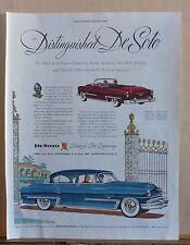 1953 magazine ad for DeSoto - Distinguished, Firedome & Convertible