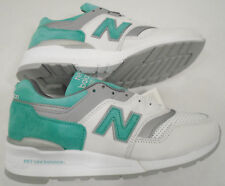 1eb4623bc75 NEW NB New Balance Mens 10.5 Suede 997 Retro Running Shoes Mint M997CMA USA  Made