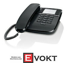 Gigaset DA510 Black Corded Phone With Direct Call Keys Genuine New Best Gift