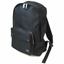 Yoshida Bag PORTER L-fine Daypack Black Backing:Red