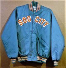 SOO CITY SOOS MINOR LEAGUE Size XL Long BASEBALL JACKET
