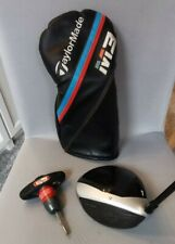 TAYLORMADE M3 ADJUSTABLE DRIVER 10-14 DEGREE, WITH HEADCOVER AND TOOL