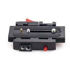 Quick Release Camera Adapter Plate Head Tripod Mount Screw Camera DSLR SLR Level