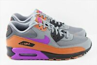 Nike Air Max 90 Essential Mens Size 10 Shoes Cool Grey Purple AJ1285 013