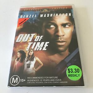 Out Of Time EX RENTAL DVD Denzel Washington - Special Edition