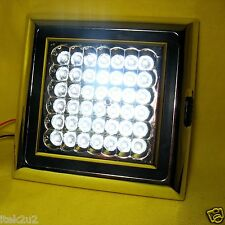 42 LED White Indoor Car Vehicle Roof Ceiling Interior Light Lamp Dome 12v Square