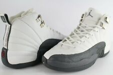 Nike Air Jordan Retro 12 XII Flint Grey White Metallic Silver 5 Youth 153265-102