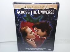 Across the Universe (DVD, Deluxe Canadian 2-Disc Set, Widescreen) NEW - No Tax