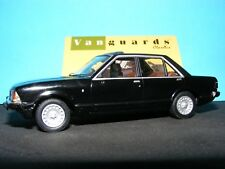 Ford Granada Mk II in Black with Tan 2.8I Ghia  RHD Corgi Vanguards NEW 1:43 rd.