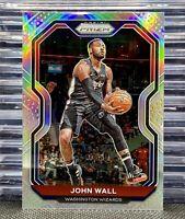 🔥2020-21 Panini Prizm John Wall #56 Silver Prizm Holo SP Wizards Rockets👀