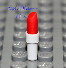 NEW Lego Female Minifig Dark RED LIPSTICK - Girl Friends Minifigure Lip Utensil