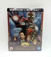 Iron Man 2 (ZAVVI) Excl 4K Ultra HD 1/4 Slip Steelbook (Ltd Ed) ***HTF***