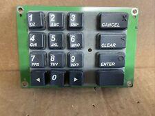 Triton Goodwell Atm Machine Parts Keypad 01152 00209 Used