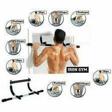 Iron Gym Barra Trazioni Addominali Sbarra Fitness Sport Dorsali Ginnastica cir