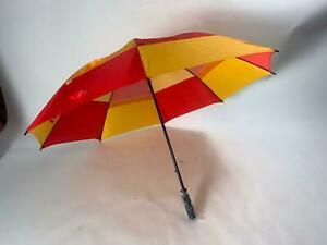 Marylebone Cricket Club MCC Cricket  Manual Vented Storm proof Umbrella