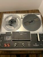 SONY TC-280 Vintage Three Head Stereo REEL TO REEL Tapecorder Player Untested!