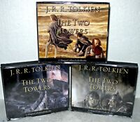 The Two Towers-  3 Volume Set - Audio CD Book-  J.R.R. Tolkien, Harper