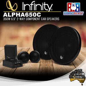 "Infinity ALPHA 650C 350W 6.5"" 2-Way Component Car Speakers"