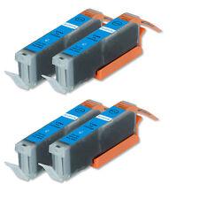 4 CYAN Quality Printer Ink for Canon CLI-251 CLI-251XL MG6620 MX922 iX6820