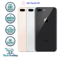 Apple iPhone 8 Plus 8+ No Touch ID 64GB 128GB 256GB Unlocked GSM 4G