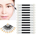 12Pcs Double-end Eye Shadow Eyeliner Brush Sponge Applicator Tool Makeup Hotsale