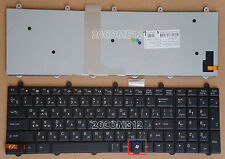 NEW For Clevo P157SM-A P150SM-A Keyboard Backlit Russian WIN7 KEY Bottom Right
