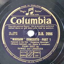 78rpm RAWICZ & LANDAUER warsaw concerto [ dangerous moonlight ] 1&2