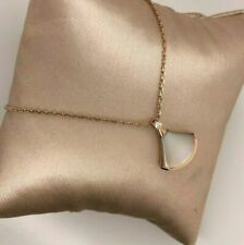 *****Bvlgari *****Diva's Dream Necklace Mother Of Pearl Diamond Necklace NWOT