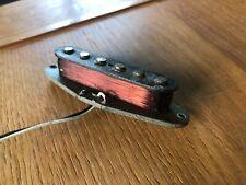1977 Vintage Fender USA Stratocaster Strat Bridge Middle Neck Pickup 5.55k Ohms
