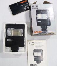 VINTAGE OSRAM B16 Flash Studio unità flash elettronico-Scatola di lavoro